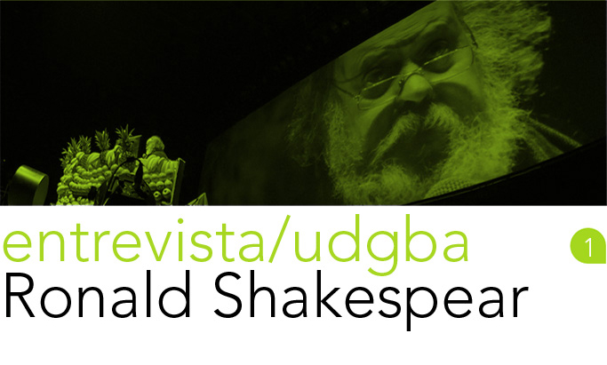 entrevista/udgba 01 - Ronald Shakespear